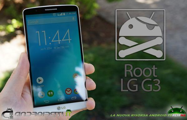 Root LG G3