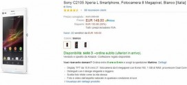 Sony Xperia L in offeta