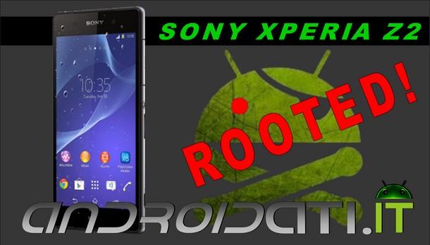 Sony Xperia Z2 : guida al root