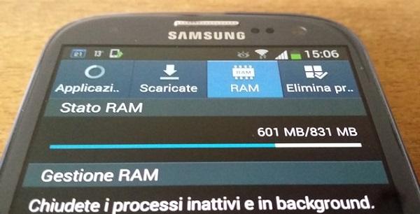gestione RAM