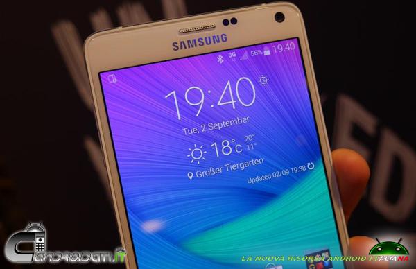 Galaxy Note 4 - recensione - 2