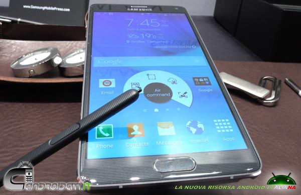 Galaxy Note 4 - recensione - 4