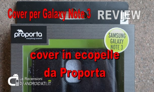Recensione Cover per Galaxy Note 3
