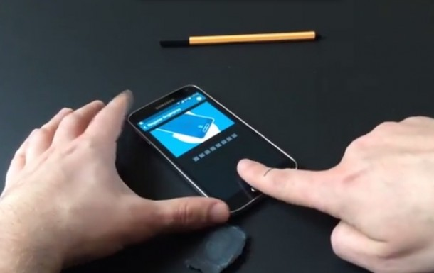 Galaxy S5 sensore d' impronte