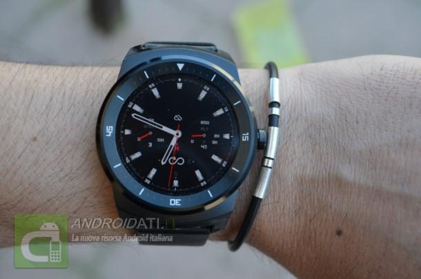 Recensione LG G Watch R