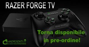Razer Forge TV in pre-ordine