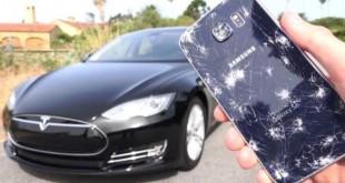 Galaxy S6 vs Tesla Mode
