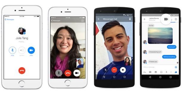 Facebook Messenger -  arrivano le videochiamate