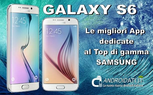 migliori app per galaxy s6