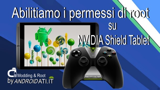 root sul NVIDIA Shield tablet