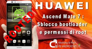 Permessi di Root - Ascend Mate 7