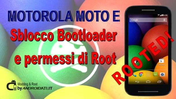 Root per il Motorola Moto E