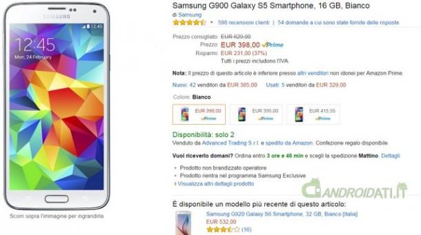 Offerta Samsung G900 Galaxy S5