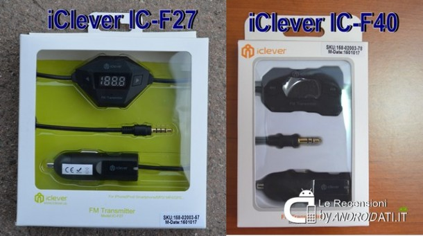 iClever IC-F27 e- C-F40 - Unboxing