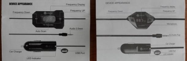 Aspetto dei dispositivi iClever IC-F27 e iClever IC-F40