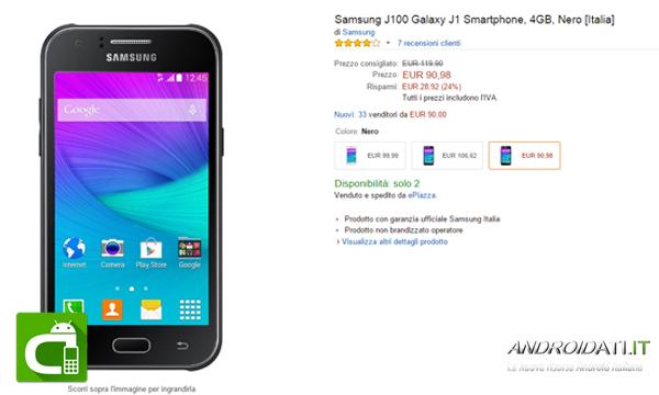 samsung-galaxy-j100-offerte-amazon-androidati