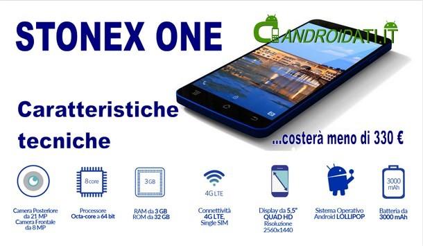 tonex one - specifiche tecniche