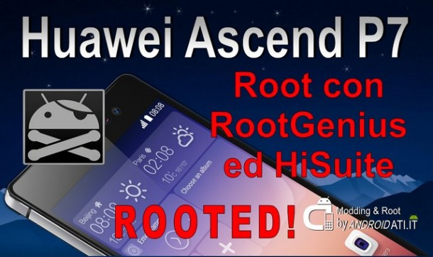Root Huawei Ascend P7