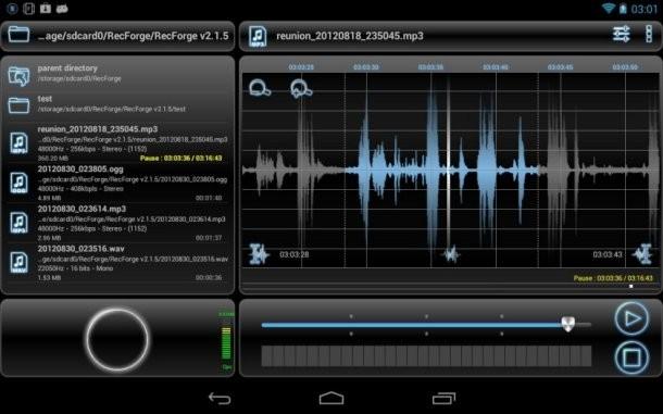 RecForge Pro - Audio Recorder