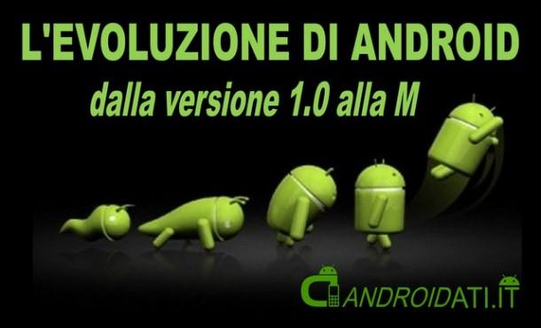 L'evoluzione di Android