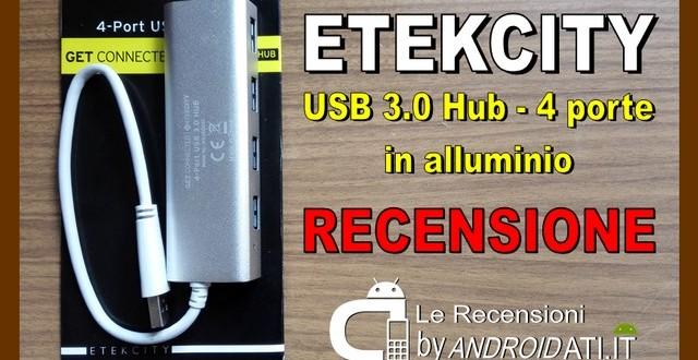 Etekcity USB 3.0 Hub con 4 porte