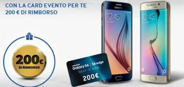 Samsung Galaxy S6 e S6 Edge: rimborso di 200 euro