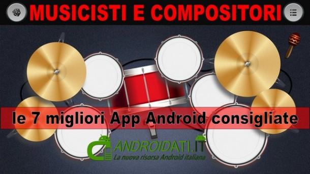 App per musicisti consigliate