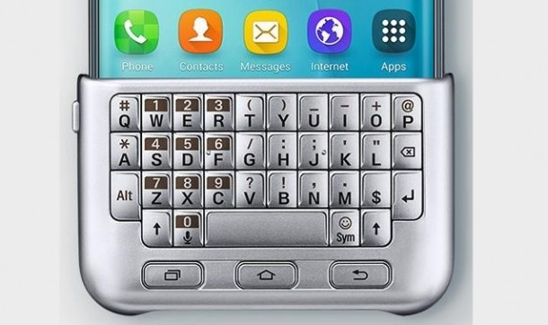 Galaxy S6 Edge Plus - tastiera QWERTY