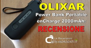 Recensione: Power Bank Portatile Olixar