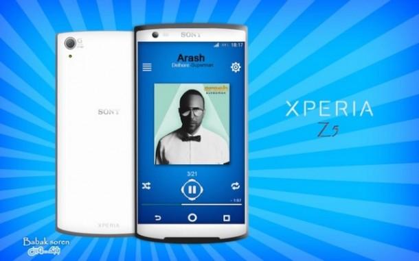Sony Xperia Z5 - concept