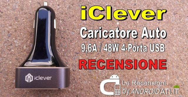 Recensione caricatore auto 4-porta USB