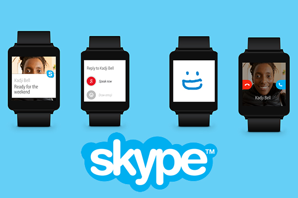 Skype 6.4 per Android Wear
