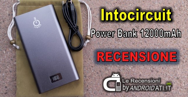 Intocircuit Power Bank 12000mAh
