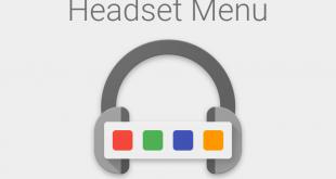 headset menu