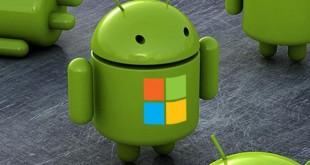Microsoft potrebbe sfruttare Android