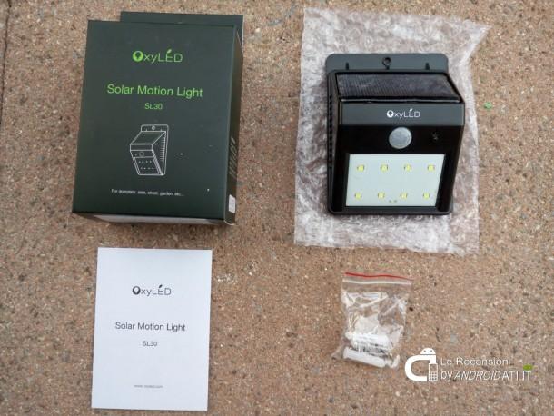 Unboxing: OxyLED SL30 Luce LED