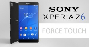 Sony Xperia Z6 forse con display Force Touch