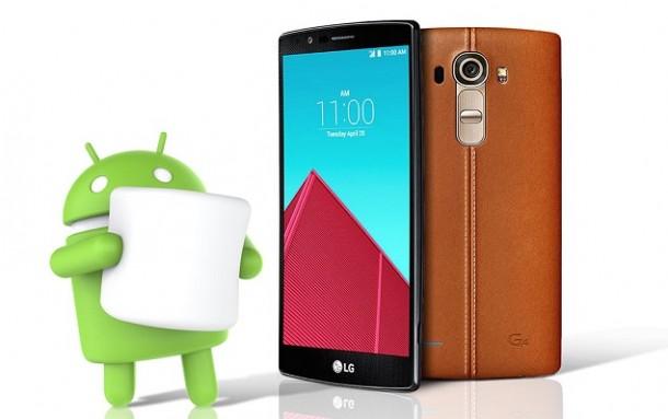 LG G4 si aggiorna ad Android 6.0