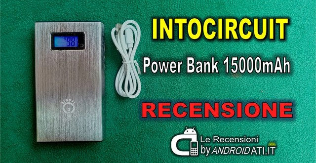 Intocircuit Power Bank 15000mAh