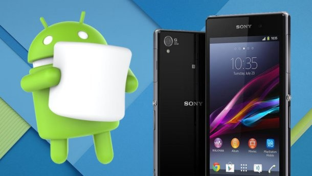 Sony Xperia Z: update ad Android Marshmallow