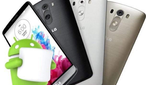 Aggiornamento ad Android Marshmallow per LG G3
