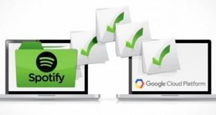 Spotify migra ai server di Google Cloud Platform