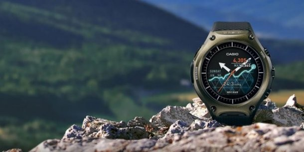 Casio Smart Outdoor Watch WSD-F10 Android Wear