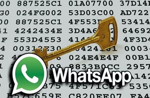WhatsApp: messaggi criptati
