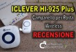 iClever campanello wireless e smart per porta: recensione