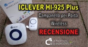 Recensione iClever campanello Wireless