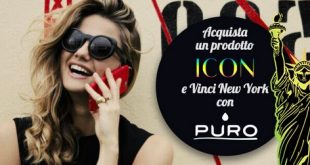 "ICON Collection lancia il concorso ""Vinci NY con Puro"""