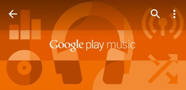Google Play Music potrebbe ricevere i controlli vocali