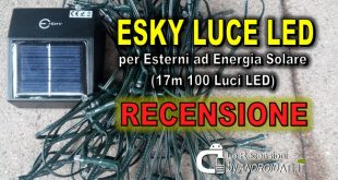 Recensione Esky Luce LED