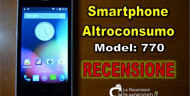 SmartPhone Altroconsumo Recensione
